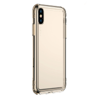 Чехол Baseus Safety Airbags Case для iPhone X/Xs Transparent Gold